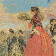 Varios objetos de Arte: POSTAL, GRAN FORMATO, MANUEL LOSADA-PASTEL, INVITACIÓN GALERÍA MUN-BILBAO, 1982. Lote 89743932