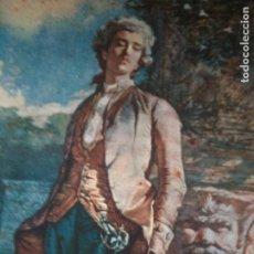 Varios objetos de Arte: ACUARELA DE FORTUNY-(EL CONDESITO) BANCA VILELLA 1956. Lote 90793970