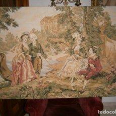 Varios objetos de Arte: PRECIOSO TAPIZ (MEDIDAS..ALTO 93 ANCHO 139). Lote 90841395