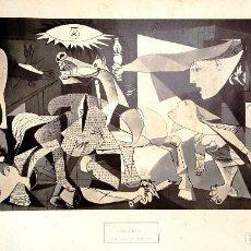 Varios objetos de Arte: LAMINA DEL GUERNICA PABLO RUIZ PICASSO (MÁLAGA 1881- MOUGINS, FRANCIA 1973) ED. POLIGRAFA 1982. Lote 90956695