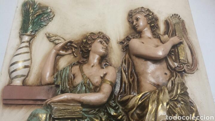 Varios objetos de Arte: Cuadro resina en relieve decorado a mano grande - Foto 2 - 91483724