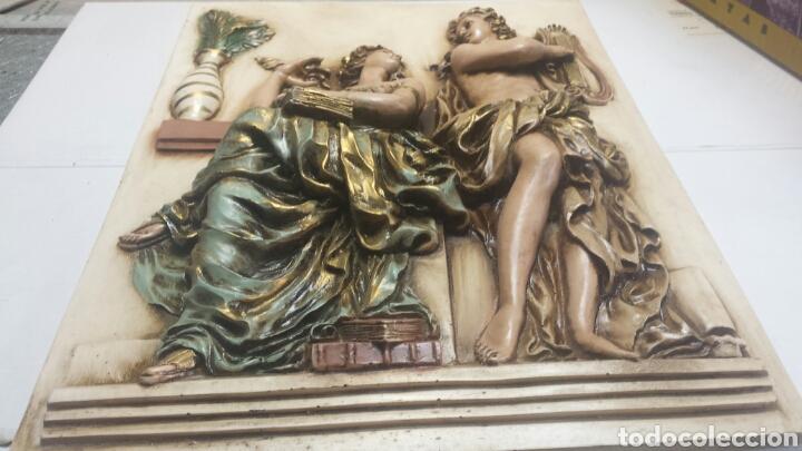 Varios objetos de Arte: Cuadro resina en relieve decorado a mano grande - Foto 3 - 91483724