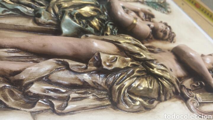Varios objetos de Arte: Cuadro resina en relieve decorado a mano grande - Foto 5 - 91483724