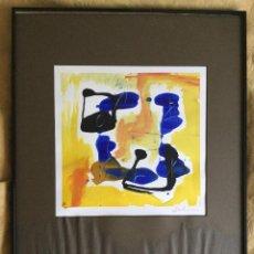 Varios objetos de Arte: PINTURA ABSTRACTA FIRMADA. Lote 91810820