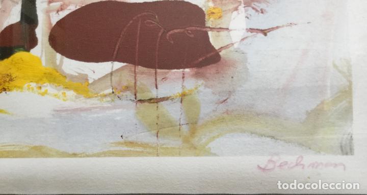 Varios objetos de Arte: CUADRO ABSTRACTO ENMARCADO AÑOS 70 - Foto 6 - 91812610