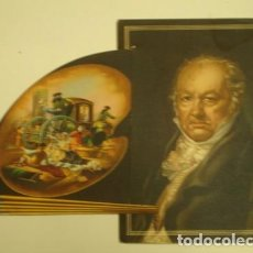 Varios objetos de Arte: GOYA TARJETA CON DESPLEGABLE - PORTAL DEL COL·LECCIONISTA *****. Lote 91827840