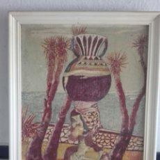 Varios objetos de Arte: BONITO CUADRO PINTADO.Y FIRMADO. Lote 92102660