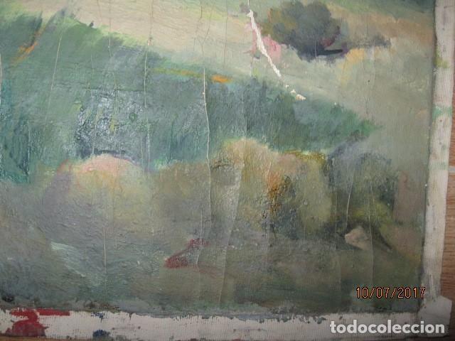 Varios objetos de Arte: ANTIGUA PINTURA OLEO EN LIENZO CASERON - Foto 2 - 92457610