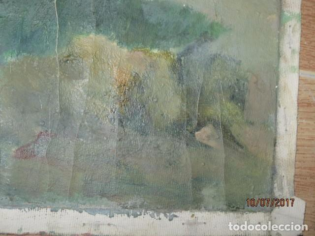Varios objetos de Arte: ANTIGUA PINTURA OLEO EN LIENZO CASERON - Foto 3 - 92457610