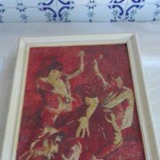 Varios objetos de Arte: CUADRO FIRMADO. Lote 92686864