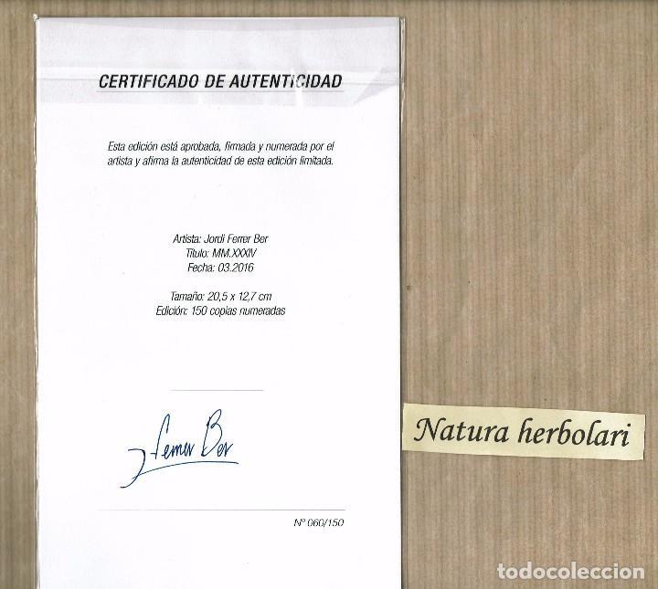 Varios objetos de Arte: Jordi Ferrer Bel ExoTerra Nu topia Dementia - Catálogo y obra firmada numerada Galeria 22 Matarranya - Foto 2 - 93066245