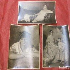 Varios objetos de Arte: 3 FOTOGRAFIA DE MANUEL BENEDITO VIVES DE VALENCIA ARTE PINTOR - FOTO MORENO MADRID. Lote 93370360