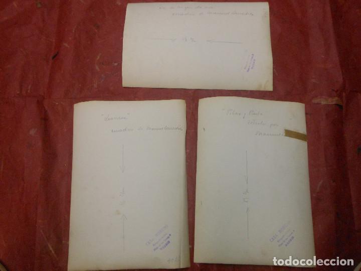 Varios objetos de Arte: 3 FOTOGRAFIA DE MANUEL BENEDITO VIVES DE VALENCIA ARTE PINTOR - FOTO MORENO MADRID - Foto 2 - 93370360