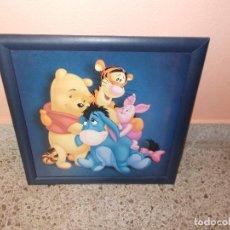 Varios objetos de Arte: CUADRO INFANTIL PINTADO ,MIDE V60X60 APROX ,TAL COMO SE VE EN LA FOTO. Lote 94255710