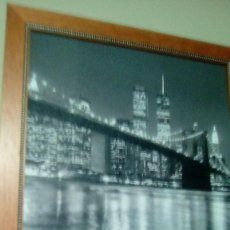 Varios objetos de Arte: ANTIGUA FOTOGRAFIA VINTAGE NEW YORK TORRES GEMELAS. Lote 94291142