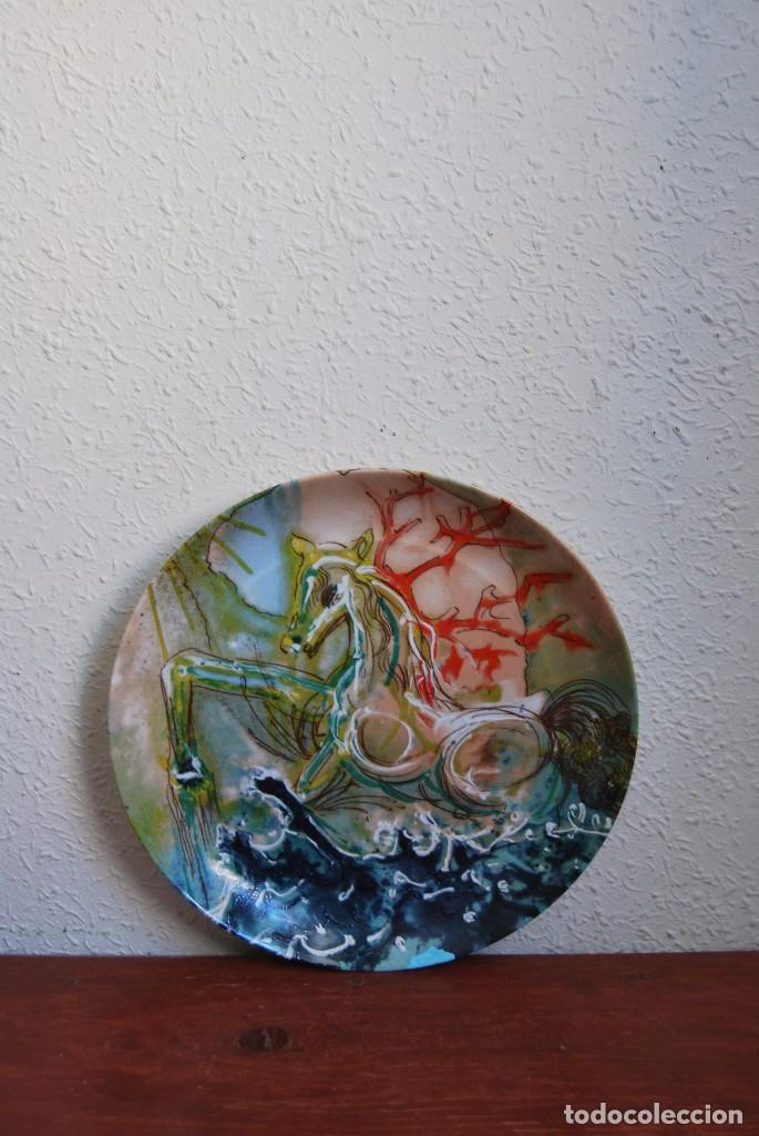 PLATO DE PORCELANA - SALVADOR DALÍ - IBERCALCO - 1982 (Arte - Varios Objetos de Arte)