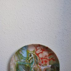 Varios objetos de Arte: PLATO DE PORCELANA - SALVADOR DALÍ - IBERCALCO - 1982. Lote 94344026
