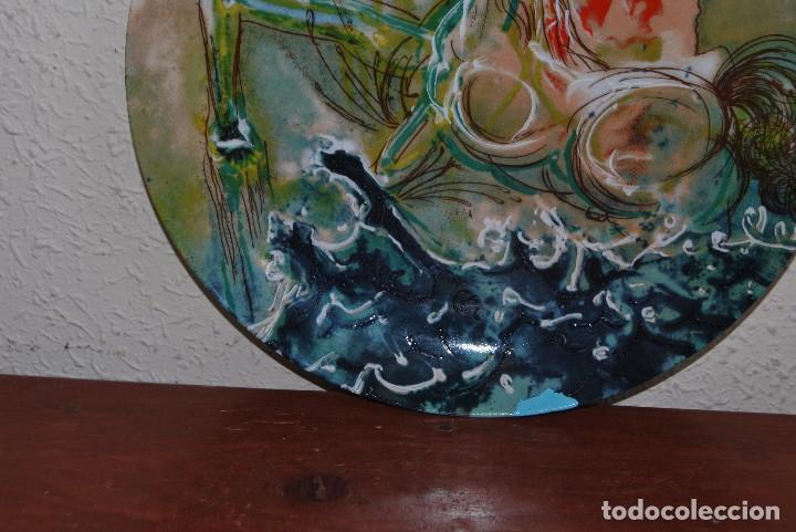 Varios objetos de Arte: PLATO DE PORCELANA - SALVADOR DALÍ - IBERCALCO - 1982 - Foto 3 - 94344026