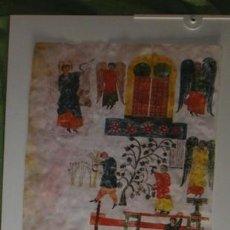 Varios objetos de Arte: LÁMINA EN PERGAMINO DEL BEATO EMILIANENSE O PRIMERO. Lote 94377854