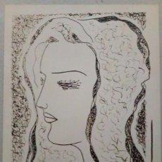 Varios objetos de Arte: FOTOGRAFIA DE DIBUJO, AÑOS 50.. Lote 94622423