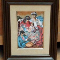 Varios objetos de Arte: FIRMADO A. PUIGMARTI. ESMALTE AL FUEGO DE MEDIADOS DEL SIGLO XX. Lote 94645007
