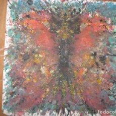 Varios objetos de Arte: ANTIGUA PINTURA O DIBUJO ANTIGUO ASTRACTO. Lote 96333751