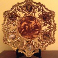 Varios objetos de Arte: PLATO DE BRONCE. Lote 96681759