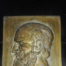 Varios objetos de Arte: PLACA CON BUSTO CLÁSICO. Lote 96935443