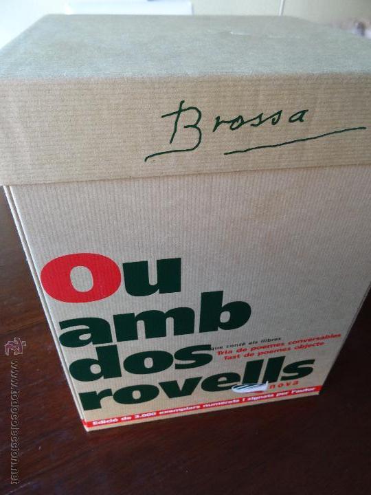 Varios objetos de Arte: Joan Brossa - Un ou amb dos rovells - Llibre objecte - Foto 3 - 150316534
