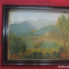 Varios objetos de Arte: OLEO IMPRESIONISTA SOBRE CARTON . Lote 98720055