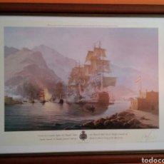 Varios objetos de Arte: ESTEBAN ARRIAGA - DERROTA DE LA ESCUADRA INGLESA DEL ALMIRANTE NELSON EN TENERIFE.... Lote 98902868