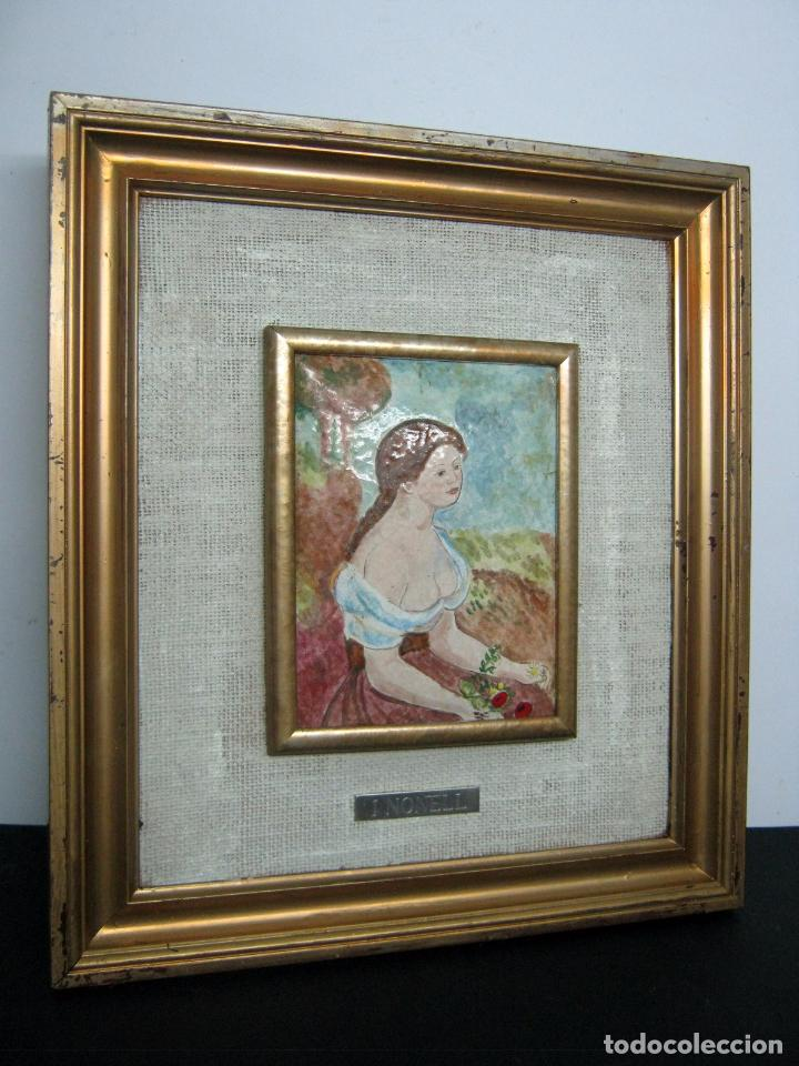 BELLO ESMALTE - ISIDRE NONELL - BARCELONA (Arte - Varios Objetos de Arte)