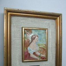 Varios objetos de Arte: BELLO ESMALTE - ISIDRE NONELL - BARCELONA. Lote 99314359
