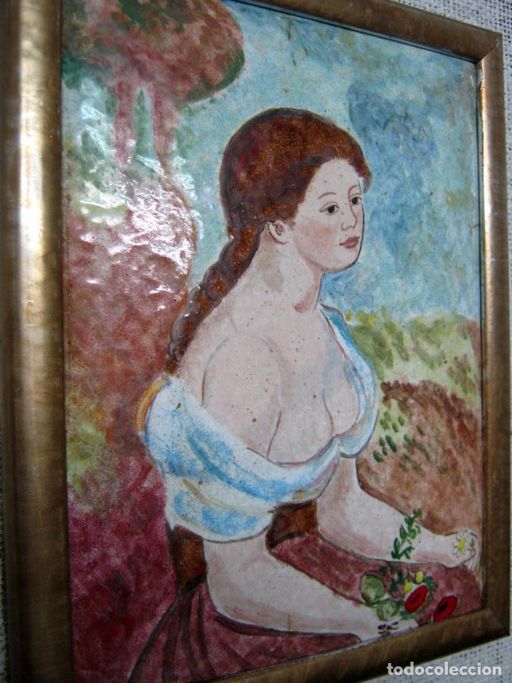Varios objetos de Arte: Bello esmalte - Isidre Nonell - Barcelona - Foto 2 - 99314359