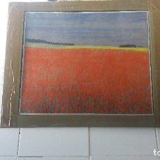Varios objetos de Arte: PASTEL DE ABRAIDO DEL REY. Lote 99823095
