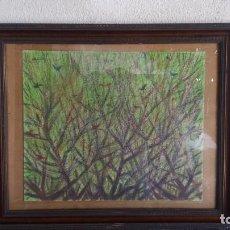 Varios objetos de Arte: PASTEL DE ABRAIDO DEL REY. Lote 99823287