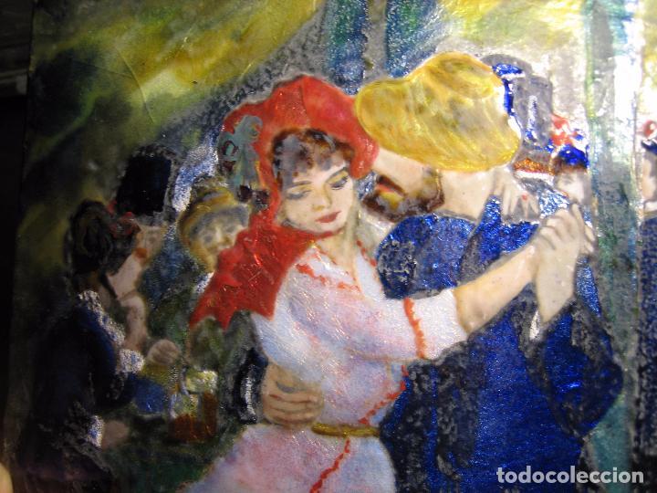 Varios objetos de Arte: PINTURA ANTIGUA OBRA EN COBRE Y PORCELANA ORIGINAL DEL PINTOR COZAR - Foto 11 - 96413159