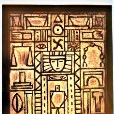 Varios objetos de Arte: TORRES GARCÍA . CARTEL ORIGINAL DE LA EXPOSICIÓN EN EL IVAM EN 1991.. Lote 100627531