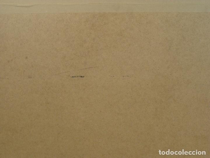 Varios objetos de Arte: Acrílico sobre papel Desnudo - Siglo XX - Foto 6 - 100939175