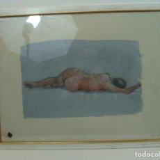 Varios objetos de Arte: ACRÍLICO SOBRE PAPEL DESNUDO - SIGLO XX. Lote 100939483