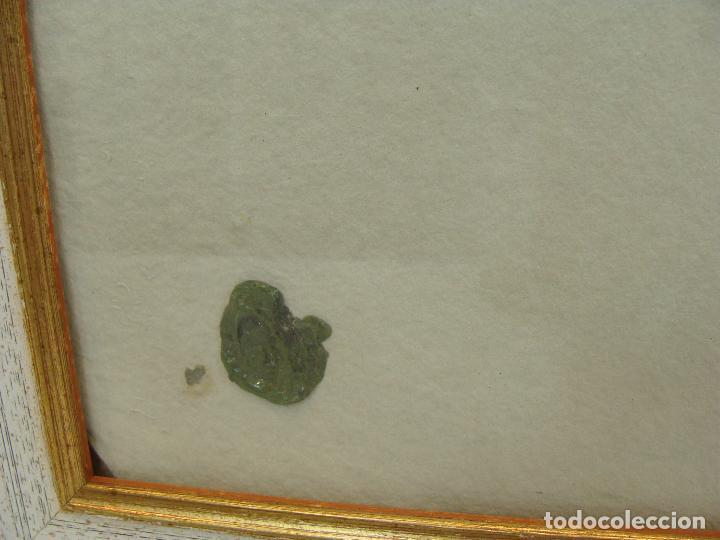 Varios objetos de Arte: Acrílico sobre papel Desnudo - Siglo XX - Foto 4 - 100939483