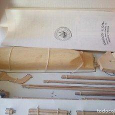 Varios objetos de Arte: CONSTRUCLO SAN LUIS ,MINORCA SPAIN BARCO PARA CONSTRUIR. Lote 101415167