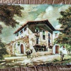Varios objetos de Arte: CUADRO QUIMET SABATE, NO ES EL ORIGINAL, COPIA AUTORIZADA, 40X30. Lote 101418971