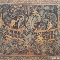 Varios objetos de Arte: TAPICES BORDADOS A MANO. Lote 102366307
