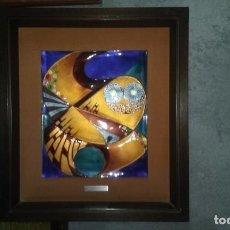 Varios objetos de Arte: CUADRO ESMALTE DE NEGRONI. Lote 102824927