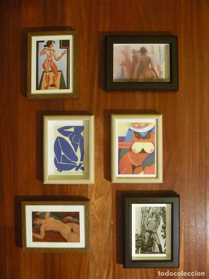 COMPOSICIÓN MUJER Y DESNUDO ARTE ERÓTICO SIGLO XX MURAL ARTÍSTICO PARED IDEAL REGALO EROTIC ARTWORK (Arte - Varios Objetos de Arte)
