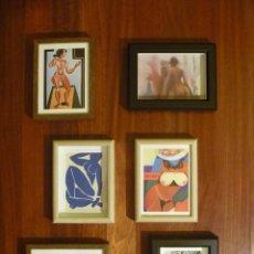 Varios objetos de Arte: COMPOSICIÓN MUJER Y DESNUDO ARTE ERÓTICO SIGLO XX MURAL ARTÍSTICO PARED IDEAL REGALO EROTIC ARTWORK. Lote 103073439