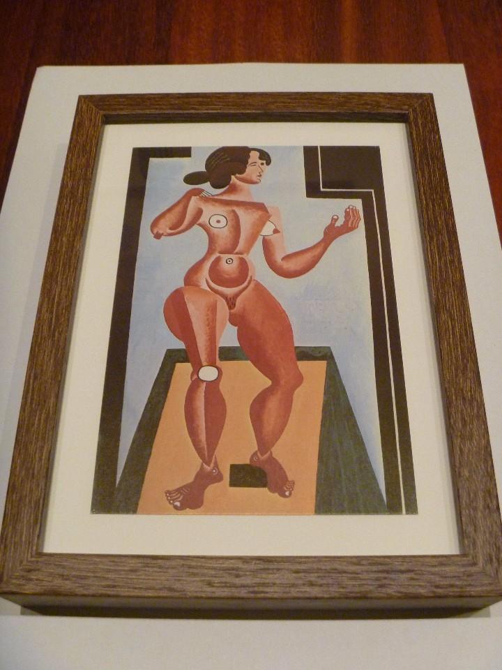 Varios objetos de Arte: COMPOSICIÓN MUJER Y DESNUDO ARTE ERÓTICO SIGLO XX MURAL ARTÍSTICO PARED IDEAL REGALO EROTIC ARTWORK - Foto 3 - 103073439