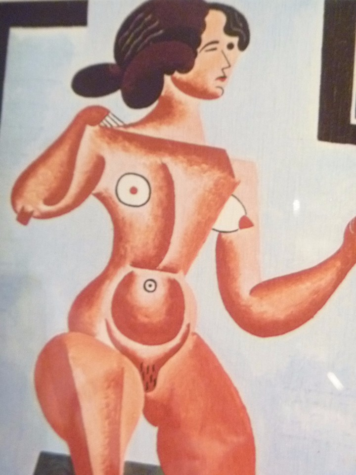 Varios objetos de Arte: COMPOSICIÓN MUJER Y DESNUDO ARTE ERÓTICO SIGLO XX MURAL ARTÍSTICO PARED IDEAL REGALO EROTIC ARTWORK - Foto 12 - 103073439