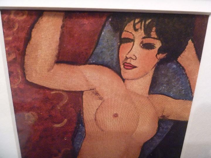 Varios objetos de Arte: COMPOSICIÓN MUJER Y DESNUDO ARTE ERÓTICO SIGLO XX MURAL ARTÍSTICO PARED IDEAL REGALO EROTIC ARTWORK - Foto 14 - 103073439